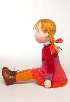 Chrissy Handmade cloth doll partial payment от AldegondeCeelen