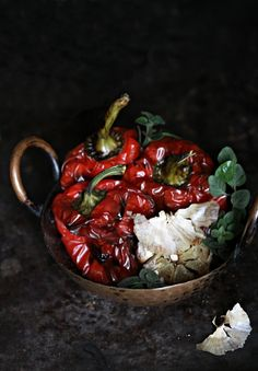 Roasted bell peppers (pesto recipe) | Passionate About Baking