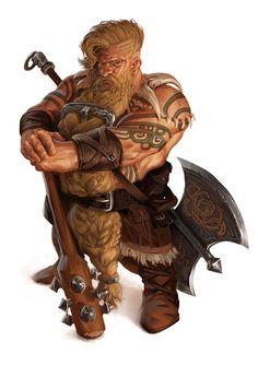 Male Dwarf Warrior
