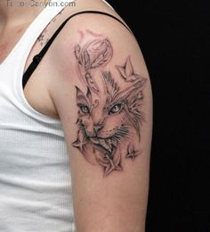 Cat Paint Tattoo Tattoos Designs Pictures picture 11797
