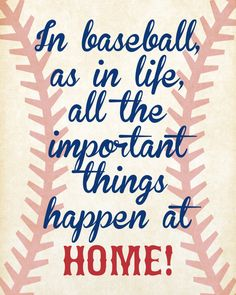INSTANT DOWNLOAD Baseball Quotes Nursery Wall Art by andyneal331