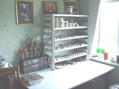 art studio organization ideas - Buscar con Google