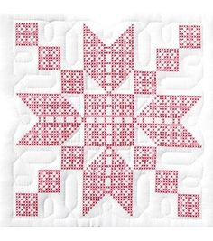 Jack Dempsey Stamped White Quilt Blocks-Stepping Stone at Joann.com   Need 5 pkgs to make queen
