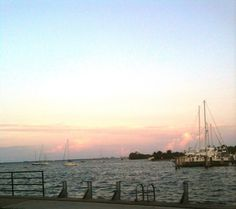 The Biscayne Bay from Scotty's Landing