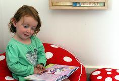 Creating a book nook ~ Happy Whimsical Hearts #booknook #waldorfhome