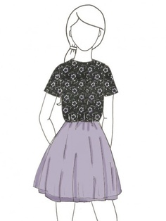 Support and turn this sketch into real product! Mina Lilac by Amy He.