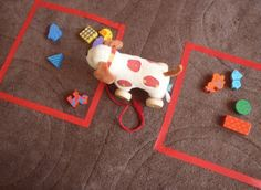 Teaching spatial concepts, especially front/back- Repinned by SOS Inc. Resources @sostherapy http://pinterest.com/sostherapy.