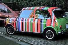 Get creative with your MINI! Rover #MINI - Paul Smith