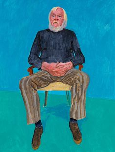 David Hockney RA: 82 Portraits and 1 Still-life | Exhibition | Royal Academy of Arts