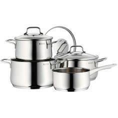 Accesorios para cocina y comedor - Batería de cocina (4 piezas) -  http://tienda.casuarios.com/wmf-730146380-collier-bateria-de-cocina-4-piezas/