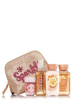 Warm Vanilla Sugar Merry On-the-Go Gift Set - Signature Collection - Bath & Body Works