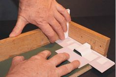 GREAT set of instructions for assembling paper buildings and such....cardstock structures for model trains