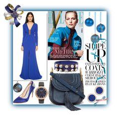 """Blue Crush!!"" by stylediva20 ❤ liked on Polyvore featuring Thakoon, Chloé, Badgley Mischka, Marni, Pamela Love and Kate Spade"
