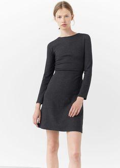 Kleid aus baumwoll-mix | MANGO