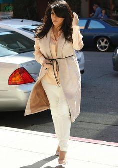 Kim Kardashian Vest - Kim Kardashian Clothes Looks - StyleBistro