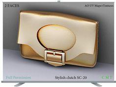 Stylish clutch SC-20 Full Permission