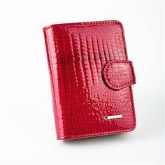 新しいパターン本革女性の短いデザイン財布ファッションクラシックワニパターン財布女性財布牛革