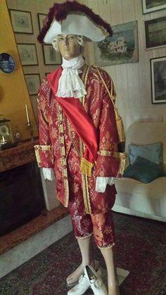 ABITO STORICO XVIII SECOLO -LUIGI XV