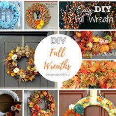 Πώς να κάνεις ντεκουπάζ σε αυγά - How to decoupage an Easter egg - despina's studio Diy Fall Wreath, Fall Wreaths, Decoupage, Diy Tutorial, Easter Eggs, Halloween, Blog, Blogging, Halloween Stuff
