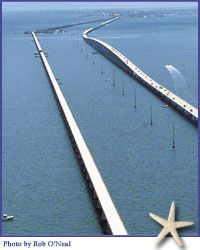 Florida Keys seven mile bridge, Marathon Key