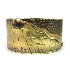 Convergence Brass Cuff Handmade and Fair Trade. Whether it is sea and land or mountain and sky, nature converges on this brass cuff handmade by South African artisans. Artisan Jewelry, Handcrafted Jewelry, Bracelet Display, Fair Trade Jewelry, Brass Cuff, Michael Kors, Polished Brass, Jewelry Collection, Cuff Bracelets