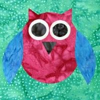 patchwork-and-craft-templates-owls-set-of-three-sizes awesome for pillow cases, wall hangings, quilts, the ideas are limitless. Available from Carol's quilts. Quilting Templates, Quilting Tools, Animal Templates, Owl Quilts, Black Tulips, Machine Applique, Grand Opening, New Zealand, Owls
