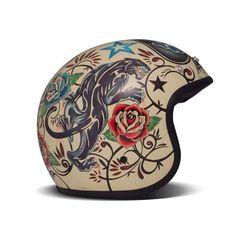 pinterest.com/fra411 #bike #helmet #art