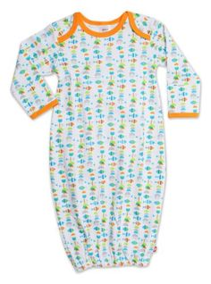 Aqua 24 Months Zutano Baby Girls Dreamy Owl Loop Long Sleeve Screen Top