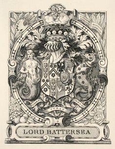Series: Ex Libris Medium: Woodcut Year: ca. 1900 Signature: Signed in block Size: 4-1/2 x 2-1/4 inches