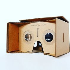 "An awesome Virtual Reality pic! You can now step into another world thanks to these cardboard VR glasses! And that for only 5$! Check for ""Google cardboard VR"" on Amazon! #techunder5 #awesome #new #newworld #googlevr #virtualreality #virtual by awesome_best.deals check us out: http://bit.ly/1KyLetq"