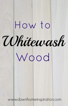 Whitewashing wood is a super simple way to create a fun look for your wood project. And it is so much easier than you might have thought. wood projects projects diy projects for beginners projects ideas projects plans Diy Pallet Projects, Diy Projects To Try, Home Projects, Woodworking Projects, Woodworking School, Woodworking Joints, Pallet Crafts, Woodworking Supplies, Woodworking Workbench