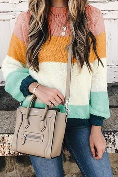 Casual Fall Outfits That Will Make You Look Cool – Fashion, Home decorating Sweater Outfits, Casual Outfits, Fashion Outfits, Fashion Tips, Fashion Design, Fashion Trends, Fashion Ideas, Fashion Websites, Casual Clothes