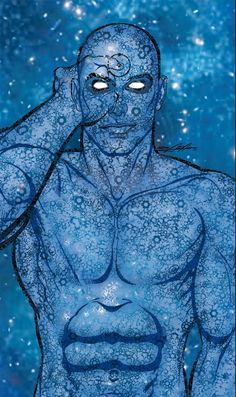 Dr Manhattan by Neal Adams