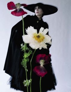 Kristen McMenamy photographed by Tim Walker for Vogue Italia, October 2012.
