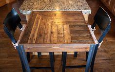 Custom Order for Giulia- Pallet Wood Bistro Table
