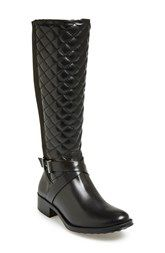 André Assous 'Seabiscuit' Waterproof Quilted Boot (Women)
