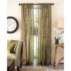 tapestry window curtains