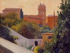 Felix Vallotton (1865-1925): Trinity of the Mount, 1913