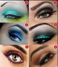 More Smoky eye designs