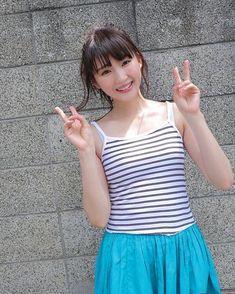 のんさんはInstagramを利用しています:「, 究極に疲れ果てました… 小百合さん見て癒されようかと 思いましたが 体力が残ってなさすぎて 電車の中でぶっ倒れそうです お疲れ様です しかしながら 小百合さんは可愛い , #井上小百合 #さゆにゃん #乃木坂46 #のん正義」 Female Pictures, Japan Girl, Kawaii Girl, Crochet Top, Idol, Actresses, Actors, Lady, Cute