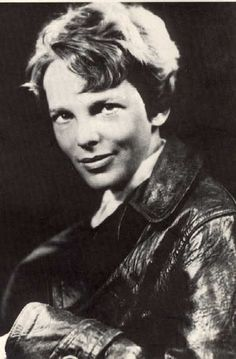 Since I was a kid, I've had this fascination with Amelia Earhart.