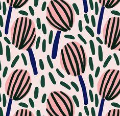 pattern floral illustration