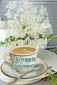 Good Morning, Tea Cups, Tableware, Buen Dia, Dinnerware, Bonjour, Tablewares, Dishes, Place Settings