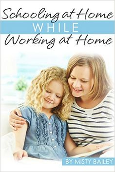 Schooling at Home, While Working at Home    Do you have the desire to earn an income from home?     Are you afraid that homeschooling and working from home would be too much?     What if I told you that you CAN school at home, while working at home?