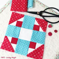 Moda Sampler Block Shuffle {Block 23} (Fort Worth Fabric Studio)