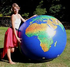 72 inflatable globe world beach ball earth map atlas t beach large inflatable globe of the world ebay google search gumiabroncs Images