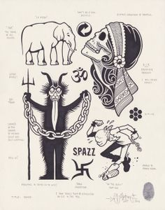 Spazz by Mike Giant, 2013.