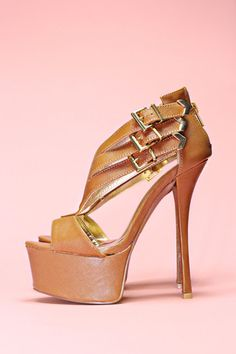 Three Strap Platform Heels - Pinch-21   uoionline.com: Women's Clothing Boutique #uoionline #shoesdaytuesday