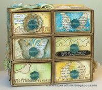 A Project by Anna-Karin from our Scrapbooking Stamping Altered Projects Home Decor Galleries originally submitted 08/15/12 at 11:54 AM