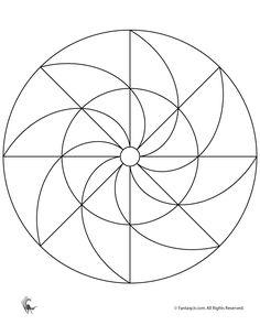 Simple Mandalas for Kids Easy Printable Mandala – Fantasy Jr.